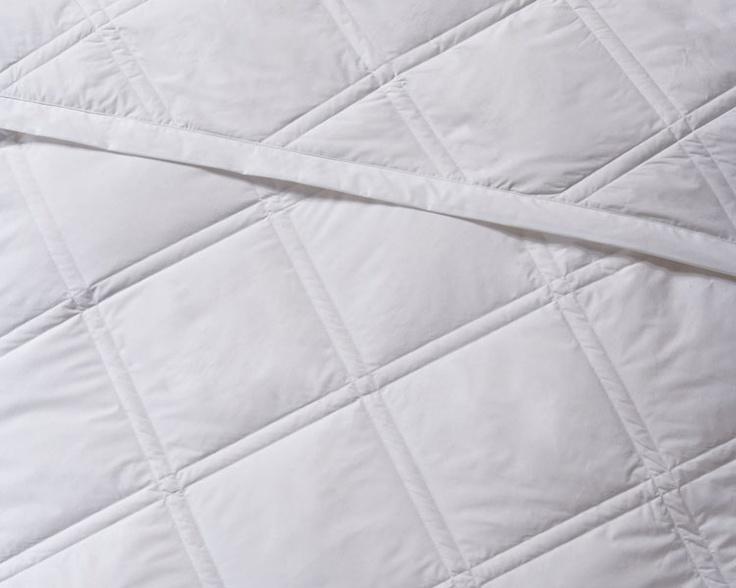diamond quilt white down blanket - Down Blankets