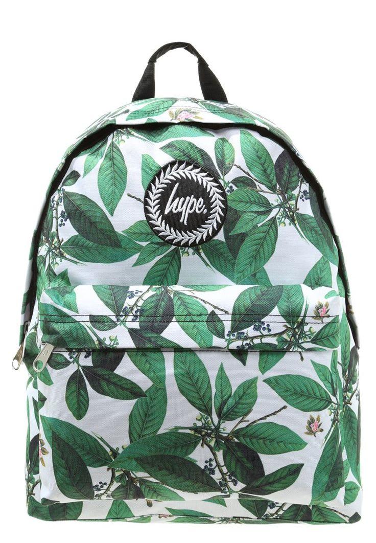 Hype Plecak zielony w liście multi