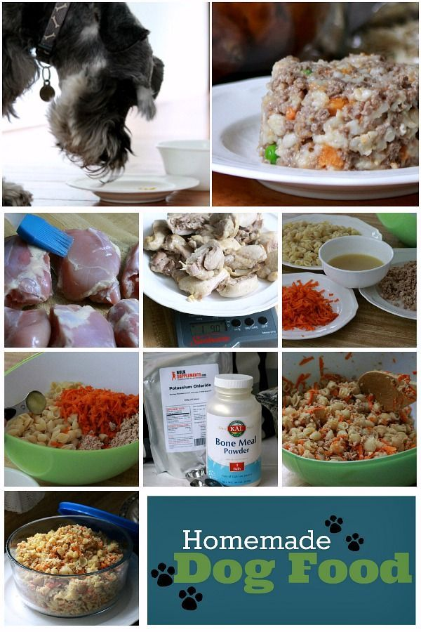 Homemade Dog Food Dog Food Recipes Homemade Dog Food Chicken