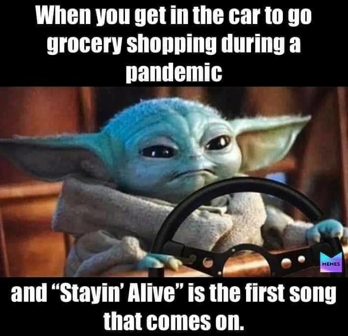 The Real Baby Yoda On Instagram Follow Babyy Y0da Yoda Funny Yoda Meme Star Wars Jokes