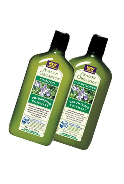 Avalon Organics Rosemary Volumizing Shampoo -- in the list of best organic shampoos and conditioners