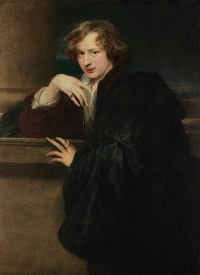Self-portrait, by Anthony van Dyck. 1620–21. (Metropolitan Museum of Art, New York; exh. Frick Collection, New York).
