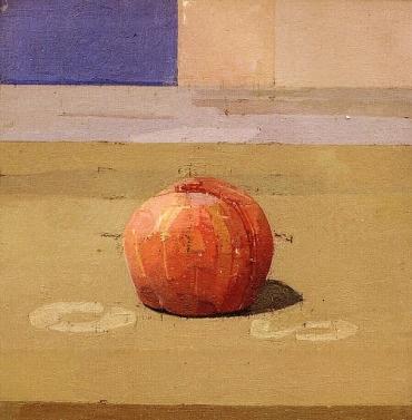 Euan Uglow, the peach