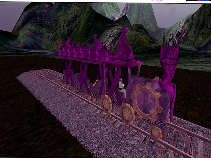 NeoVictoria - SLRR compatible Memorial Train - Anansi Sim http://maps.secondlife.com/secondlife/Anansi/51/129/76