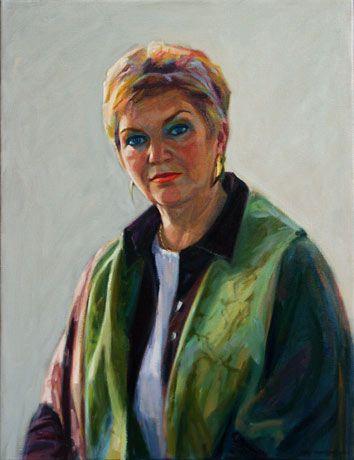 Corry Koekkoek, portretkunst, portretten in olieverf, pastel en conté