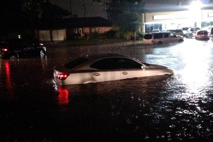 Image: Floods in Houston, Texas.