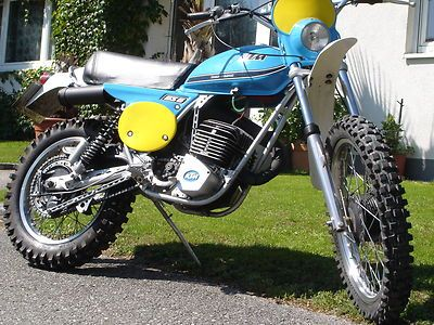 ktm 125 gs6 twinshock 1976er classic motocross mit. Black Bedroom Furniture Sets. Home Design Ideas