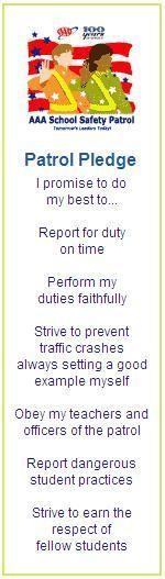 Safety patrol essay