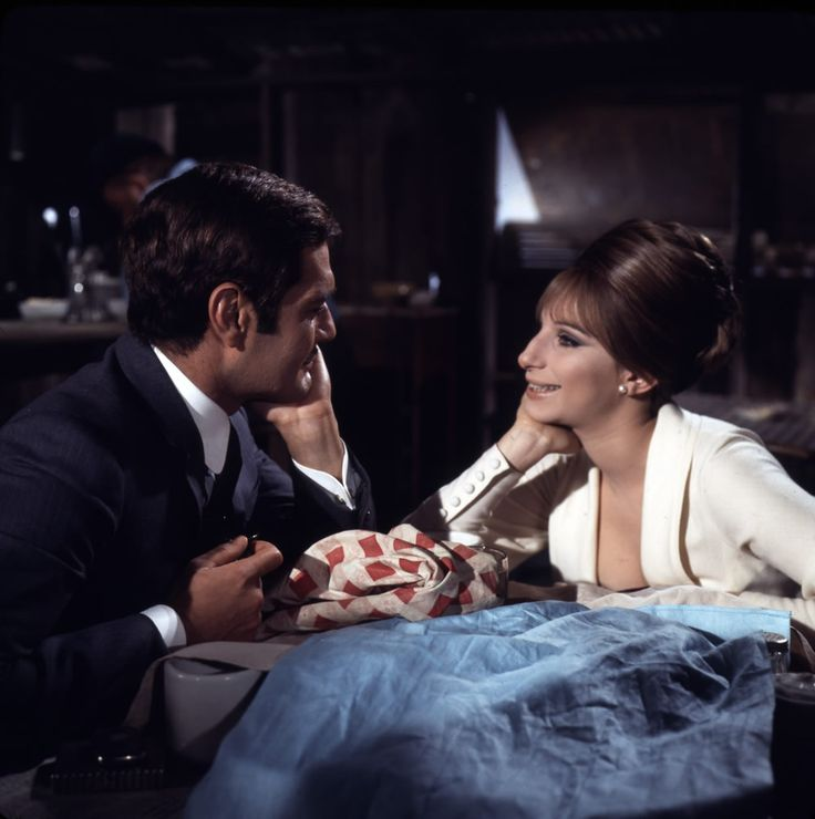 Funny Girl is ace: Babs is so little, Omar Sharif is the most charming man ever, great songs and costumes, tears, laughter, roller-skates, belting out a song on the Hudson River in furs! It's got it all really.