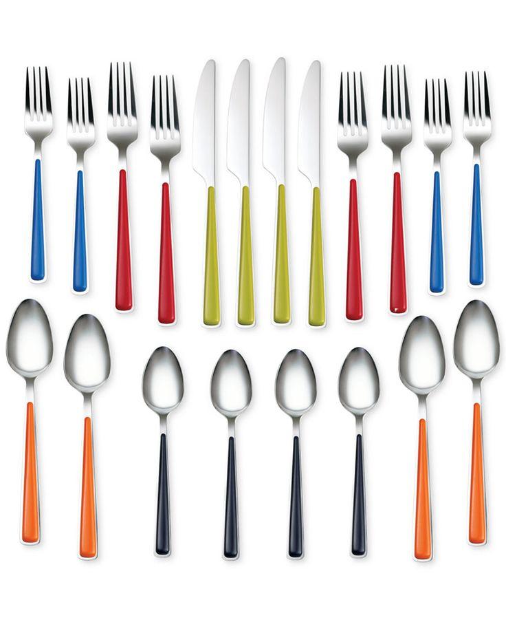 Fiesta Merengue 20-Pc Set, Service for 4 - Fiesta - Dining & Entertaining - Macy's
