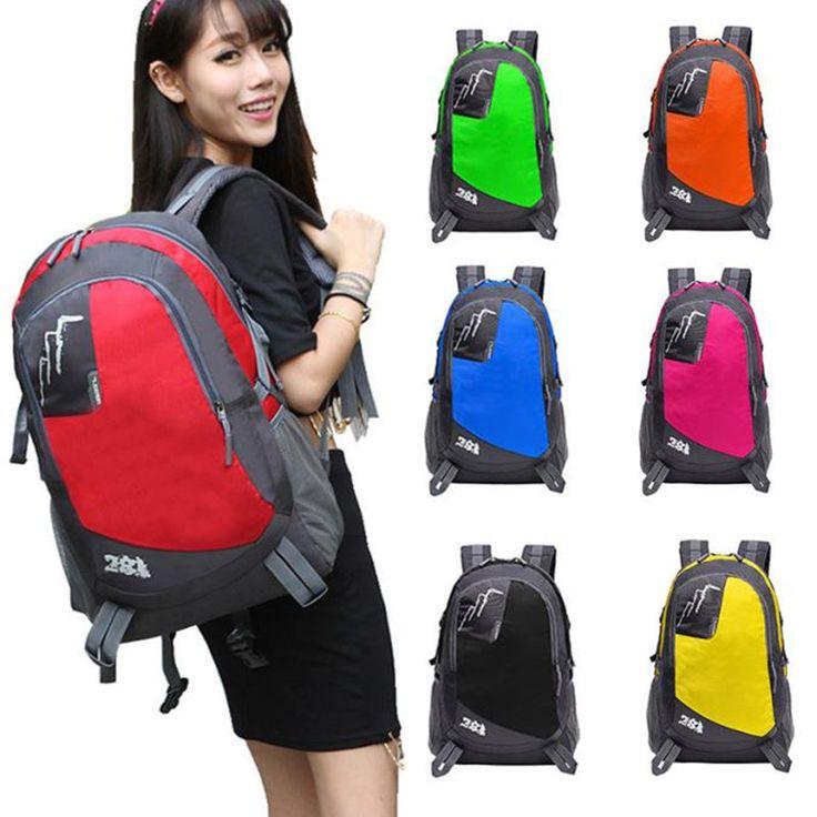 New Brand Outdoor Backpack Hiking Bag Camping Travel Waterproof Pack Mountaineering mochila Rucksack 2017