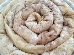Tarta espiral de manzana con masa filo                                                                                                                                                                                 Más