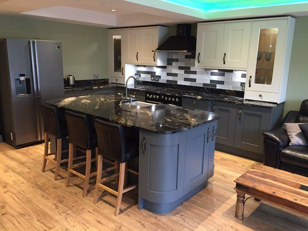 Kitchen Design by Purple Kitchens in Maghull, Liverpool featuring Abode.