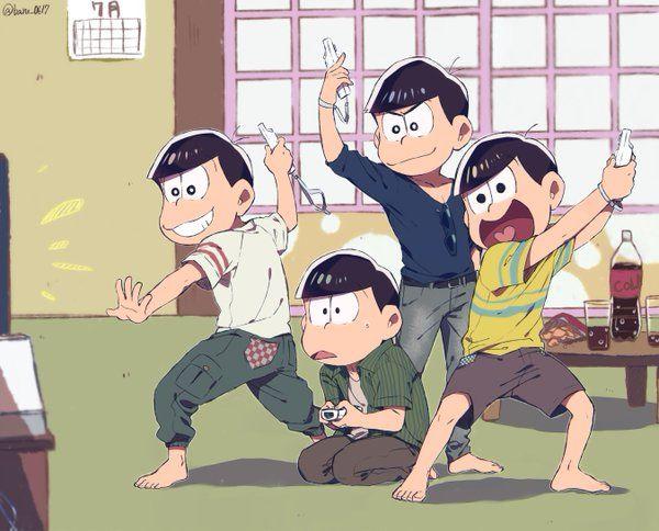 おそ松さん Osomatsu-san 四人戦隊ウィーレンジャー