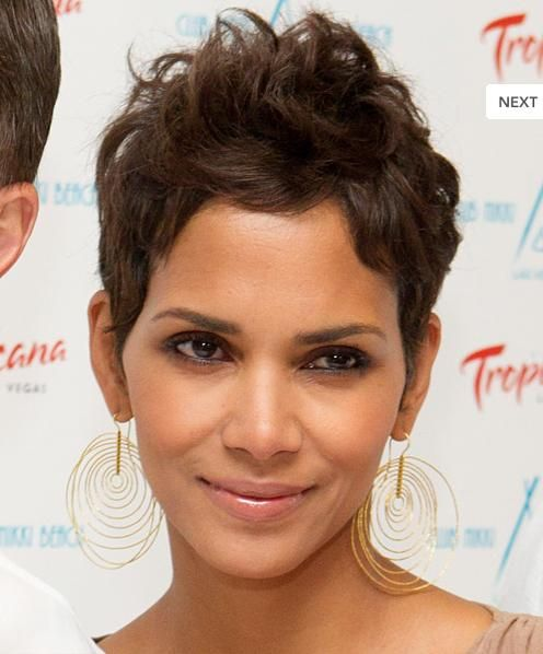 photos of halle berry hair   matilstr: Halle Berry Hairstyle