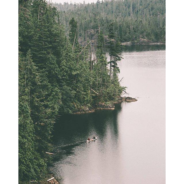 Kennedy Lake, the largest lake on Vancouver Island, north of Ucluelet. Photo: @graeme_o via Instagram #exploreBC #explorecanada