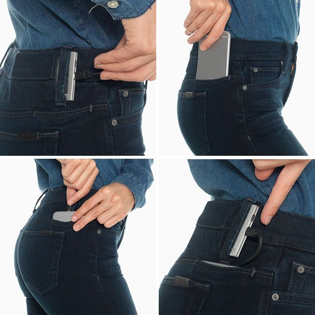 These jeans can charge your phone!