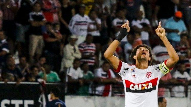 Arão Santa Cruz x Flamengo (créditos: Agência Estado)