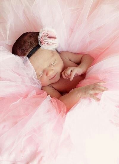 New born girl photo yr