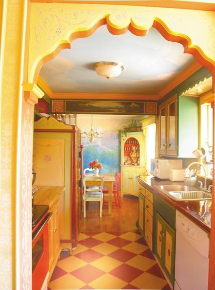 Home Architec Ideas Indian Kitchen Entrance Design