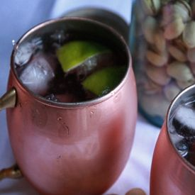 Pomegranate Mule [Jane's Adventures in Dinner]