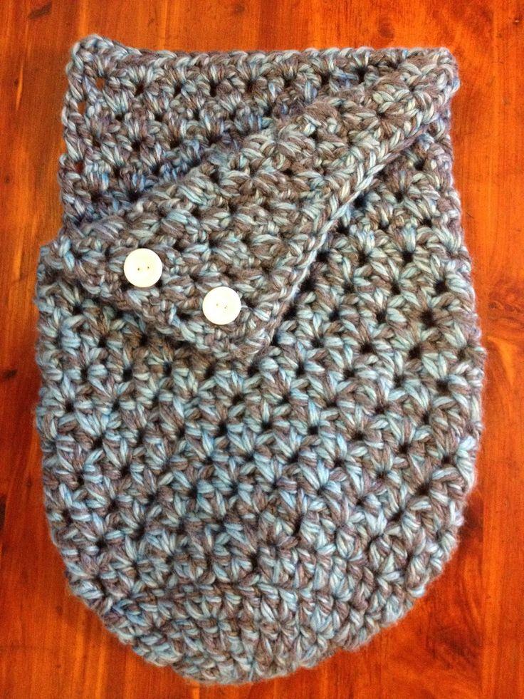 Crochet Baby Wrap Pattern : Best 25+ Crochet baby cocoon ideas on Pinterest