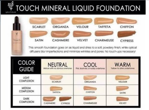 Younique Touch Moisturizer Oil-control Foundation Flawless Face Makeup 10 Color Foundation Powder [9674034255]