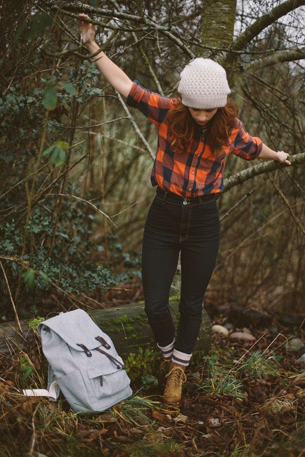 20 Style Tips On How To Wear Hiking Boots, Outfit Ideas | Gurl.com