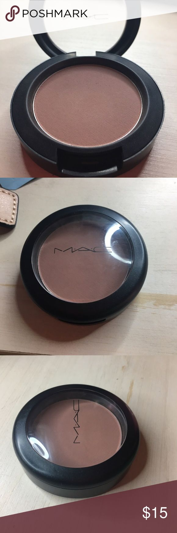 Like New MAC Harmony Blush Like New MAC Harmony Blush! Only swatched! Perfect neutral blush or contour shade. MAC Cosmetics Makeup Blush
