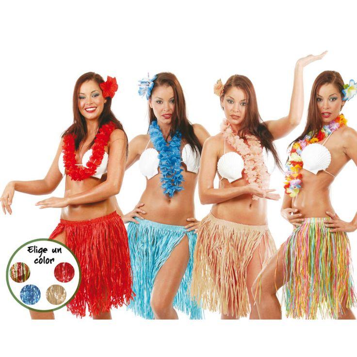 Set de Hawaiana #accesorioshawaianos #accesoriosdisfraz #accesoriosphotocall