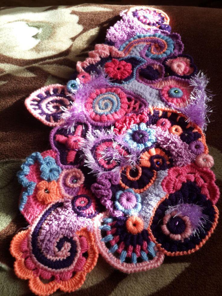 38 best Free form crochet images on Pinterest | Freeform crochet ...