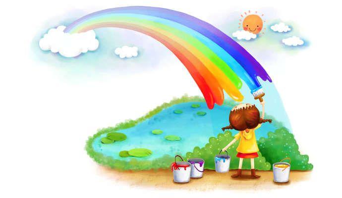 Изучаем цвета. Картинки для детей