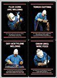 GMAW & Flux Core & Oxy-Acetylene & Torch Cutting (4 DVD Welding Set!)