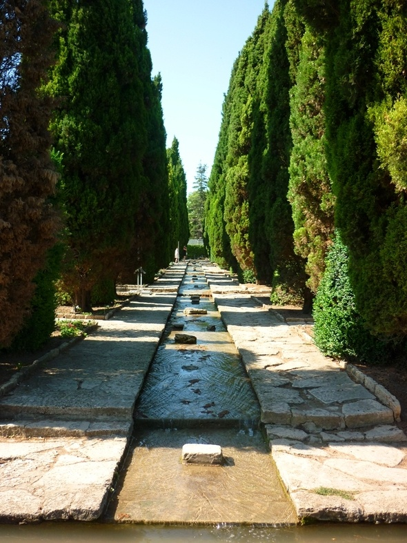 Bulgaria, Balchik, The Botanic garden