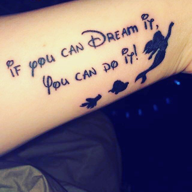Best 25 Disney Quote Tattoos Ideas On Pinterest: 17 Best Ideas About Disney Quote Tattoos On Pinterest