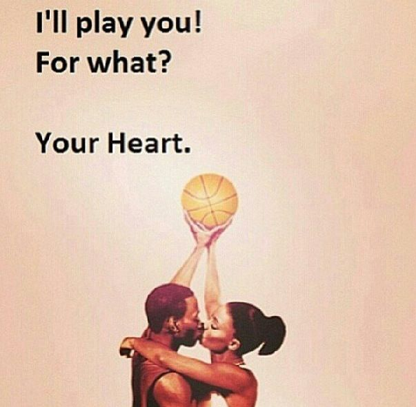 Love and basketball...my favorite movie!!