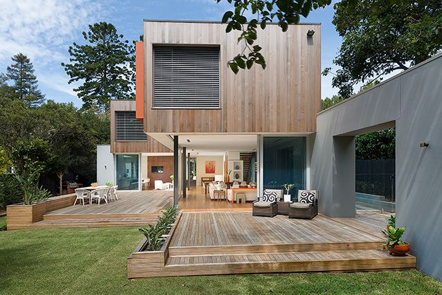 Award winning home designed and built by Chateau in Sydney. Beautiful #modern #homes #architecture