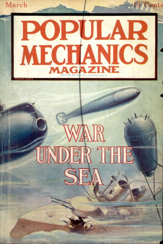 100 Years Later: Popular Mechanics' Coverage of World War I