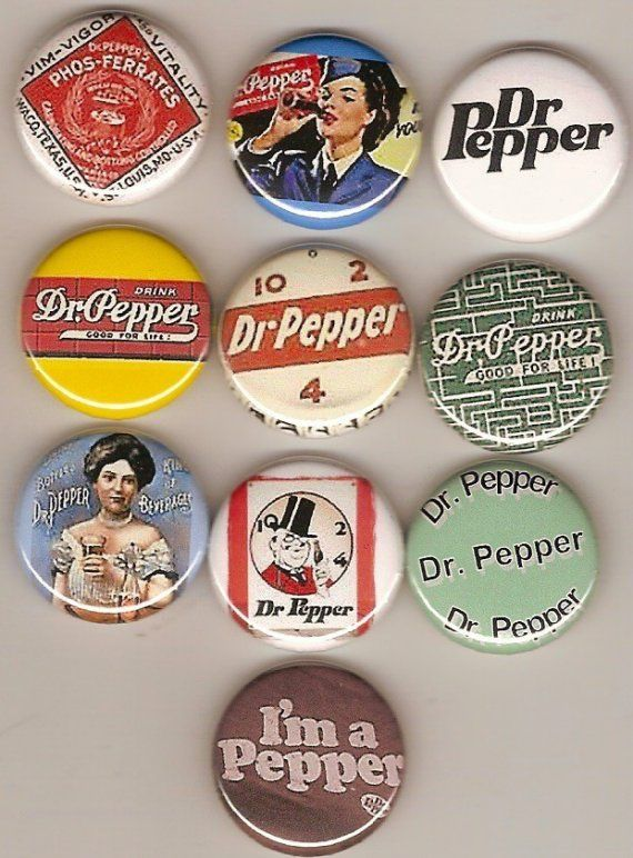 DR. PEPPER 10 MAGNETS FRIDGE MAGNET I'M A PEPPER