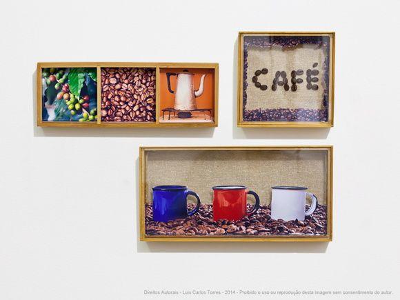 Quadro caixa - Do pé ao café - Cafeteria