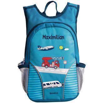 Kita-Rucksack mit Namen JAKO-O - Liebevoll gestalteter Rucksack für kleine Leute ♥ sorgfältig ausgewählt ♥ Jetzt online bestellen!