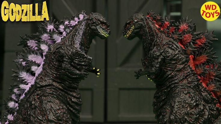 New Shin Godzilla  Premium Repaint Version Sega Unboxing Review  Radiati...