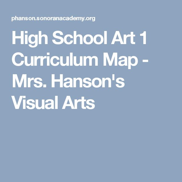 Visual Arts Curriculum: 2076 Best Images About 8th Grade Art On Pinterest