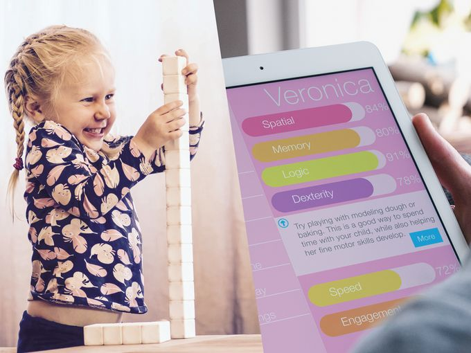 All the information and data about how your child performs, builds, and struggles is presented to you in an easily digestible dashboard.