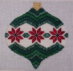 needlepoint stitches guide | Needlepoint Bargello Ornament and Free Stitch Guide - Nuts about ...