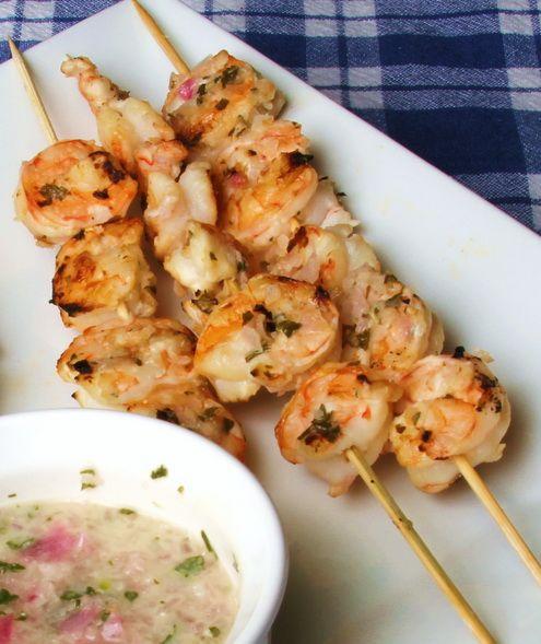 Red Lobster Grilled Shrimp Kabobs