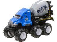 Anleggskjøretøy steinbrudd, Sementbil blå