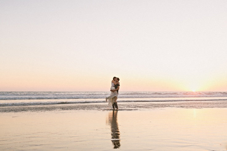 Sydney & Dave's Venice Beach Engagement | Sweet Little Photographs