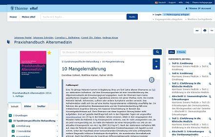 Die neuen #eRef Lizenzpakete Geriatrie, Palliativmedizin sowie Psychiatrie, Psychotherapie und Suchtmedizin umfassen damit sowohl die relevanten Fachbücher und Fachzeitschriften von #Thieme als auch die entsprechenden Angebote aus dem #Kohlhammer Verlag.