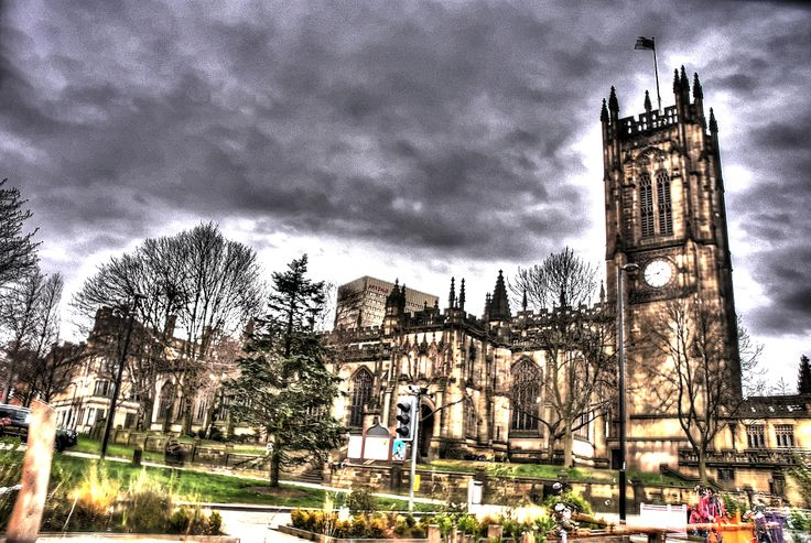 Manchester Central cathedral